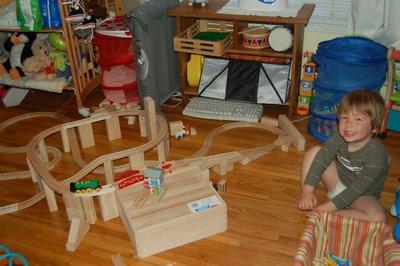 Jonah and trains