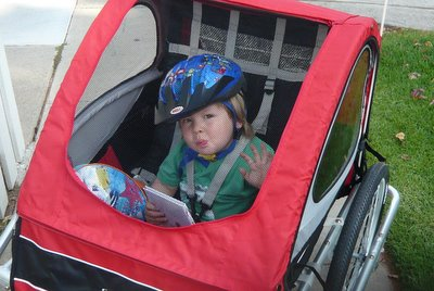 Jonah First Bike Ride